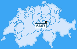 PLZ 6463 Schweiz