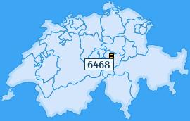PLZ 6468 Schweiz