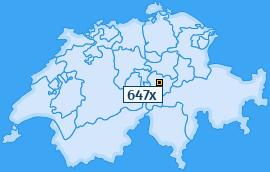 PLZ 647 Schweiz