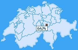 PLZ 6474 Schweiz