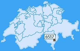 PLZ 6517 Schweiz