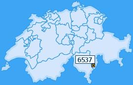 PLZ 6537 Schweiz