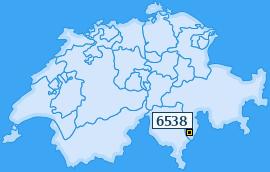 PLZ 6538 Schweiz