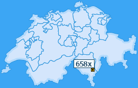PLZ 658 Schweiz
