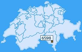 PLZ 6598 Schweiz