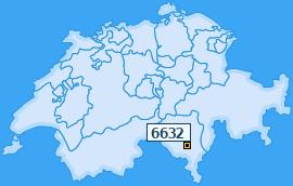 PLZ 6632 Schweiz