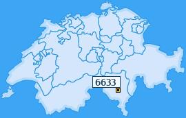 PLZ 6633 Schweiz