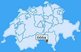 PLZ 666 Schweiz
