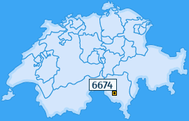 PLZ 6674 Schweiz