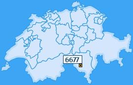 PLZ 6677 Schweiz