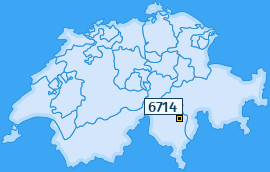 PLZ 6714 Schweiz