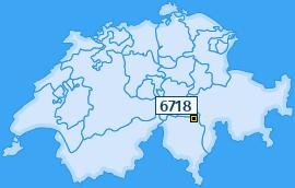 PLZ 6718 Schweiz
