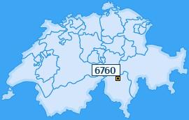 PLZ 6760 Schweiz