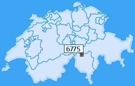 PLZ 6775 Schweiz