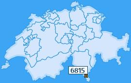 PLZ 6815 Schweiz