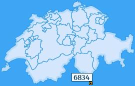 PLZ 6834 Schweiz
