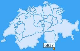 PLZ 6837 Schweiz