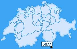 PLZ 6877 Schweiz