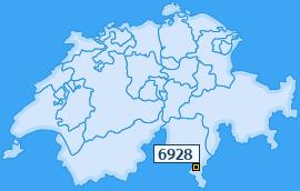 PLZ 6928 Schweiz