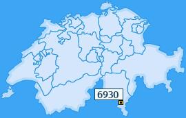 PLZ 6930 Schweiz
