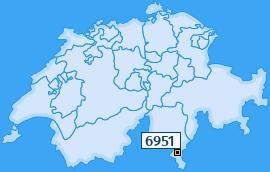 PLZ 6951 Schweiz