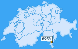 PLZ 6954 Schweiz