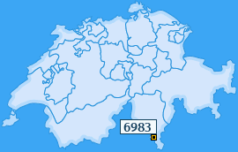 PLZ 6983 Schweiz