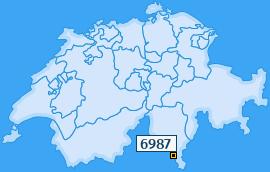 PLZ 6987 Schweiz
