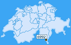 PLZ 6992 Schweiz