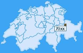 PLZ 70 Schweiz