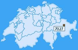 PLZ 7027 Schweiz