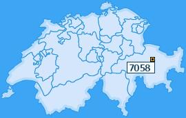 PLZ 7058 Schweiz