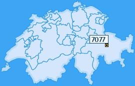 PLZ 7077 Schweiz