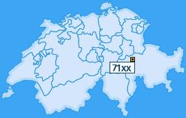 PLZ 71 Schweiz