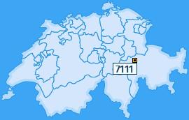 PLZ 7111 Schweiz