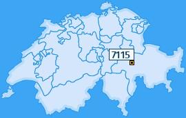 PLZ 7115 Schweiz