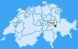 PLZ 7148 Schweiz