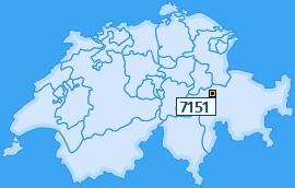 PLZ 7151 Schweiz