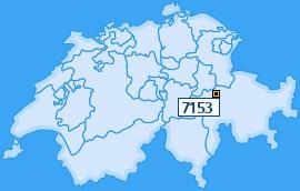 PLZ 7153 Schweiz