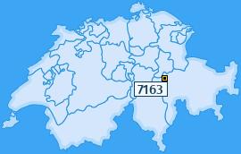 PLZ 7163 Schweiz