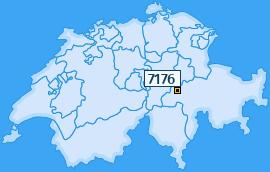 PLZ 7176 Schweiz