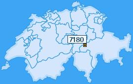 PLZ 7180 Schweiz