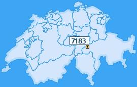 PLZ 7183 Schweiz