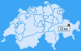 PLZ 72 Schweiz