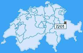 PLZ 7201 Schweiz