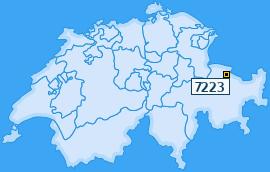 PLZ 7223 Schweiz