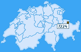 PLZ 7224 Schweiz