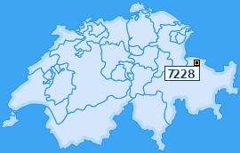 PLZ 7228 Schweiz