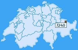 PLZ 7240 Schweiz