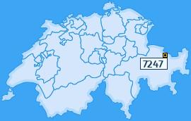 PLZ 7247 Schweiz